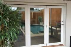 timber bi fold external view